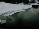 Река Турья, зима
