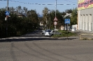 Вид на горы с улицы Свердлова (Карпинск)